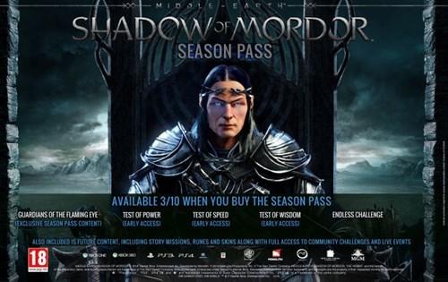 season pass DLC shadow of mordor Video Game Coverage - 8291376640