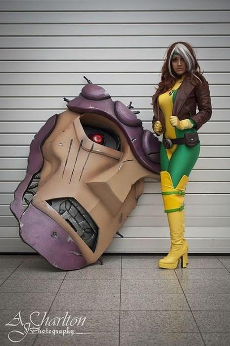 rogue cosplay xmen - 8291427072