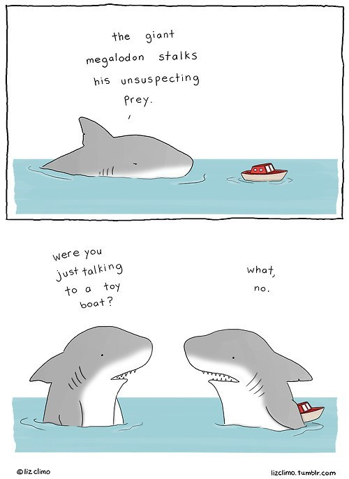 narration,sharks,web comics