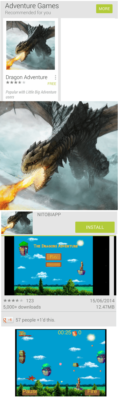 wtf,mobile games,expectations vs reality,dragons