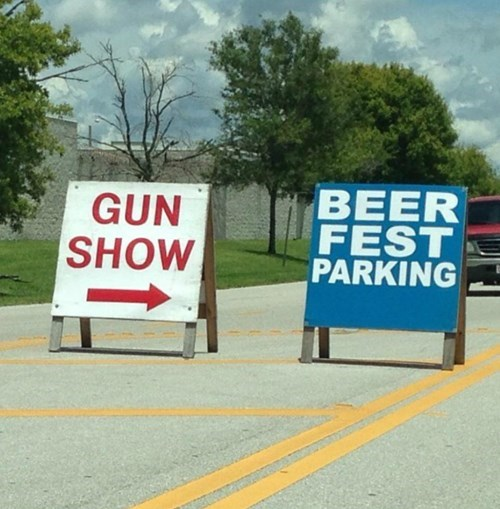 guns,beer