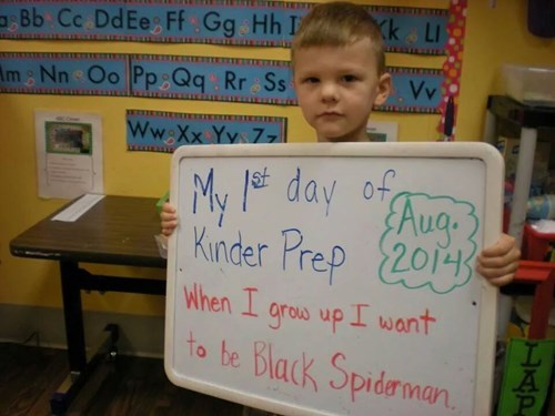 school kids parenting Spider-Man g rated - 8291649024