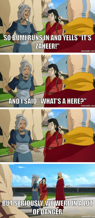 bad joke kya Avatar korra - 8291690496