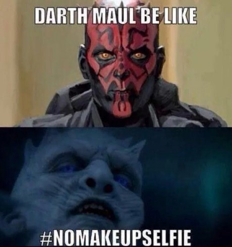 darth maul crossover star wars Game of Thrones