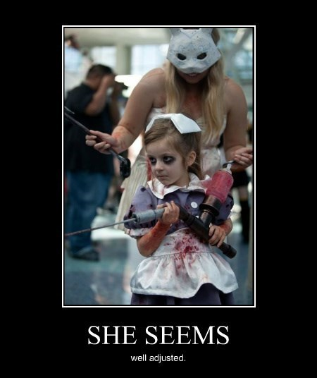 cosplay,kids,awesome,bioshock,funny