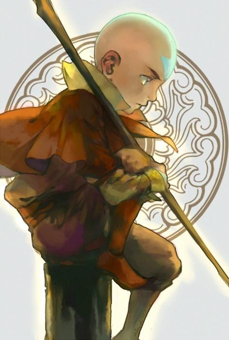 aang Fan Art Avatar the Last Airbender cartoons Avatar - 8291725312