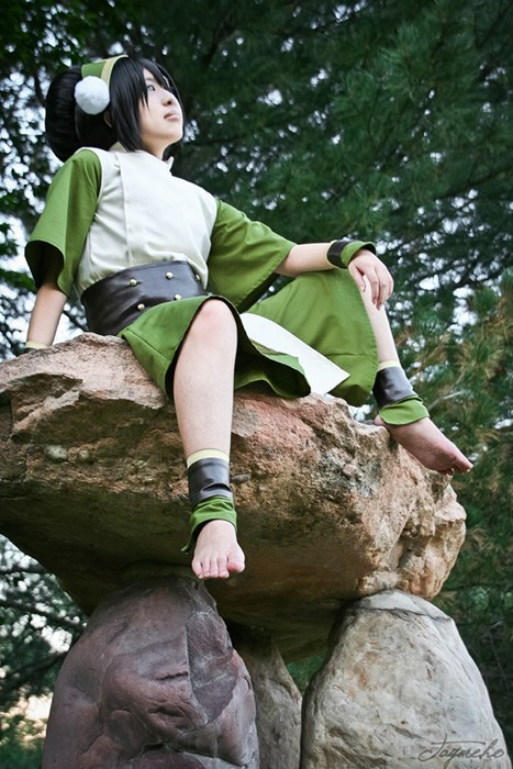 cosplay toph beifong Avatar the Last Airbender cartoons Avatar - 8291727872