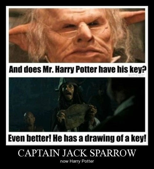 wtf Harry Potter jack sparrow funny - 8291733504