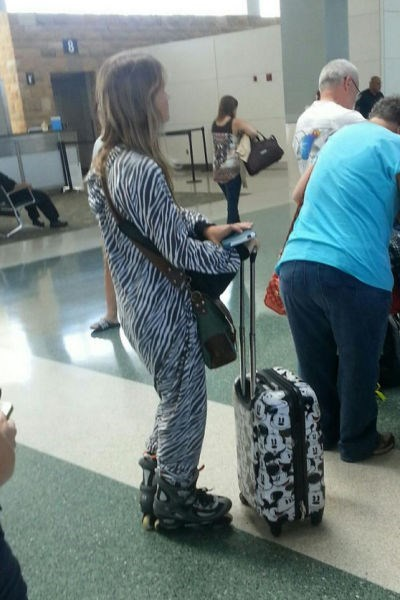 zebra onesie poorly dressed Travel - 8291739392