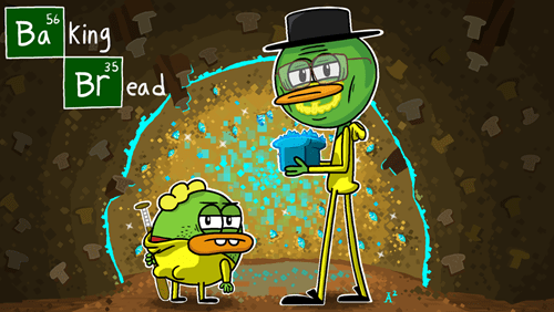 crossover breaking bad Fan Art breadwinners - 8291740928