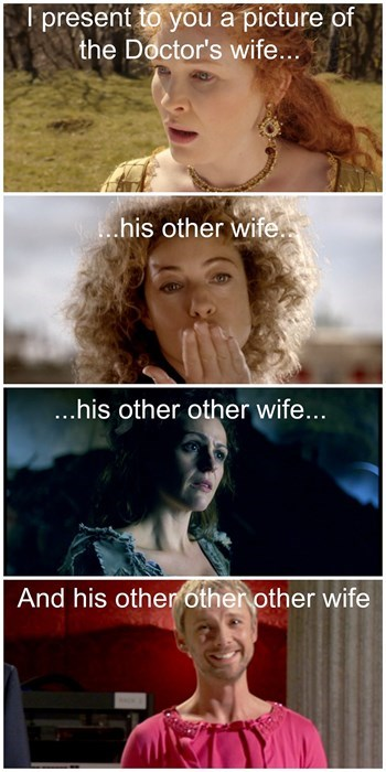 polygamy the doctor the master River Song - 8291767296