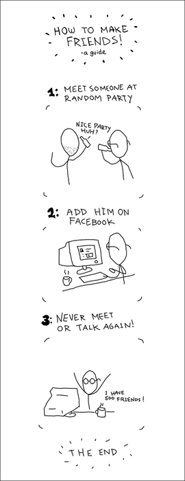 social networking,friends,sad but true,Party,web comics