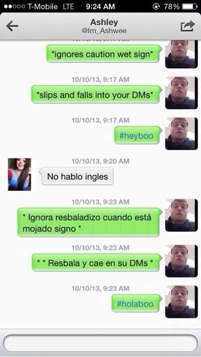 spanish,texting