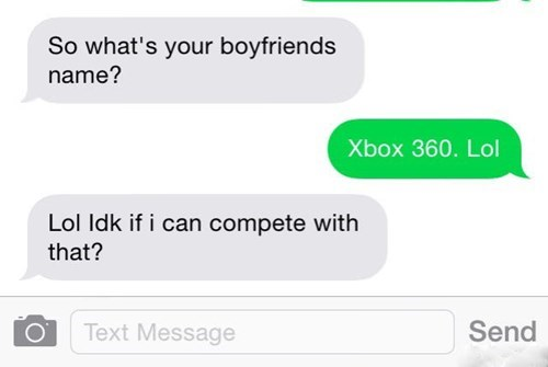 boyfriend,flirting,texting,video games,failbook,g rated