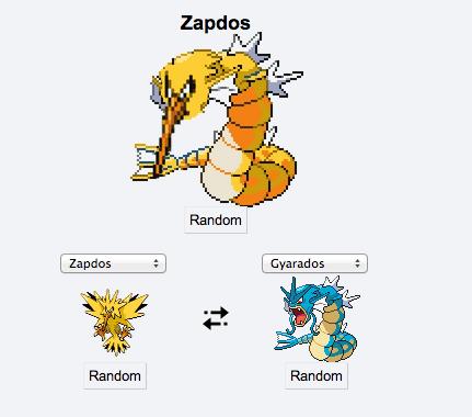 gyarados pokemon fusion funny zapdos - 8292138496