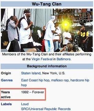 hip hop rap Wu-Tang Clan wikipedia - 8292580352