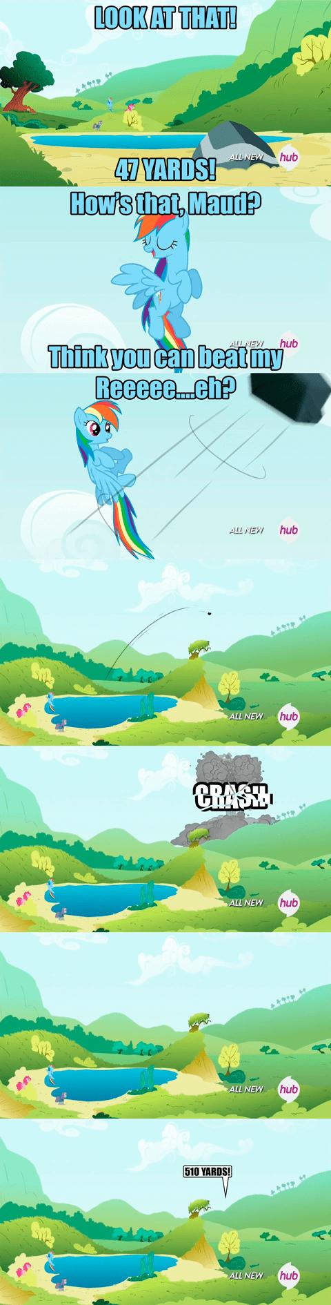 maud pie rainbow dash - 8292612608