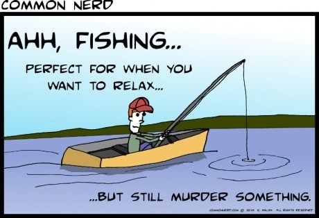 sick truth,fishing,web comics