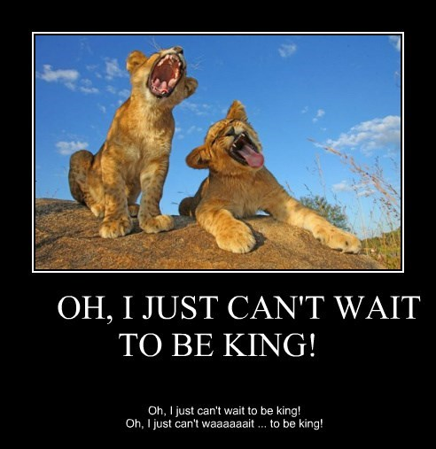 lions singing lion king - 8292620288