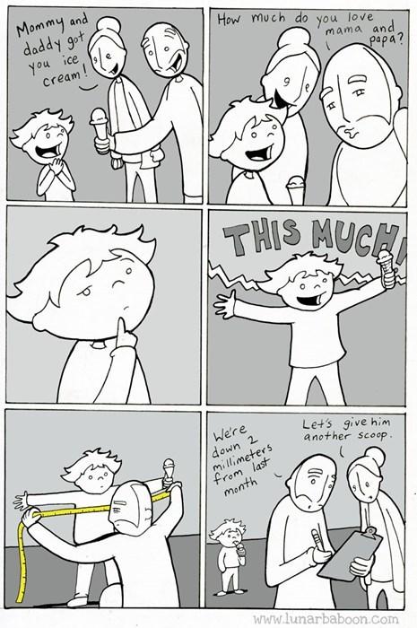 kids ice cream parenting love web comics - 8292640768