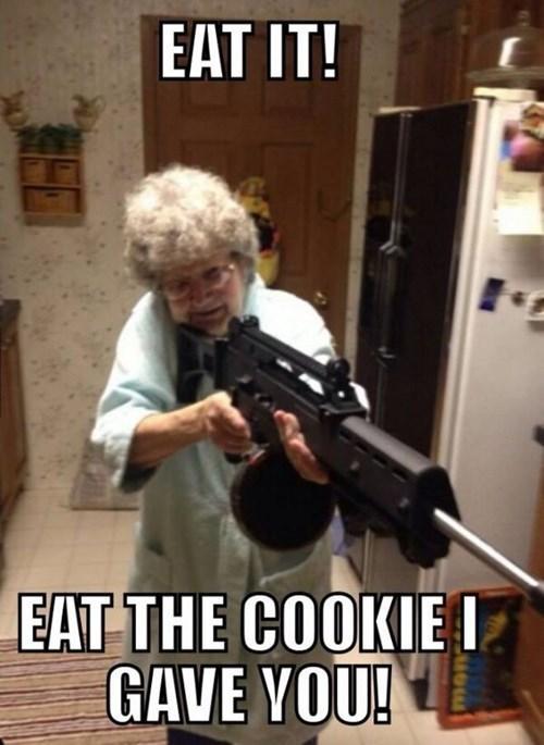 guns grandmas cookies - 8292654080