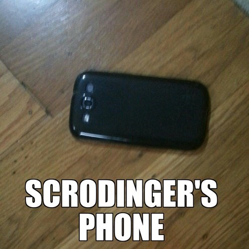 phone science funny schrodingers-cat g rated School of FAIL