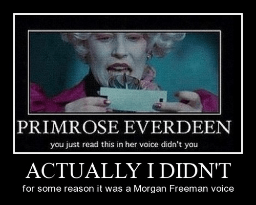 hunger games Morgan Freeman funny