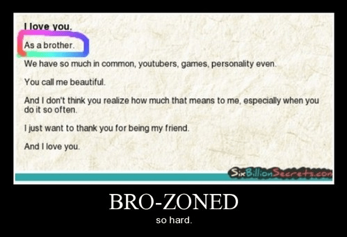 bro zone,friend zone,funny