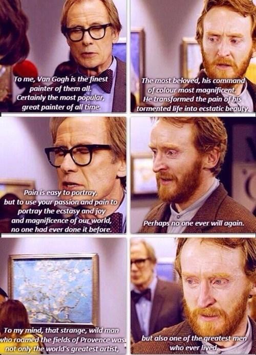 doctor who Vincent van Gogh - 8292868864