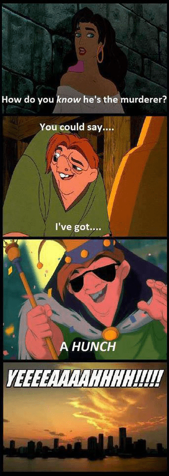 The Hunchback of Notre-Dame disney puns cartoons - 8292972032