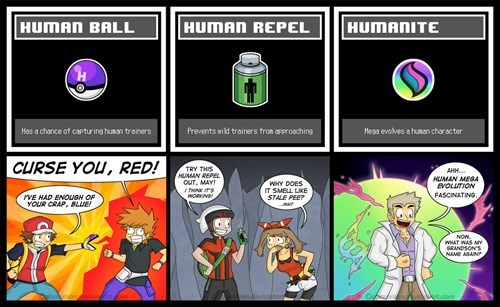 Pokémon professor oak humans humanite - 8292977408