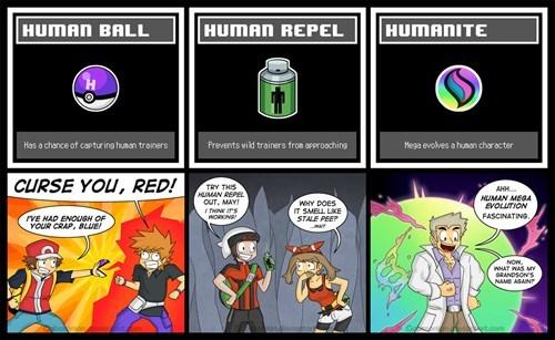 Pokémon professor oak humans humanite - 8292977408