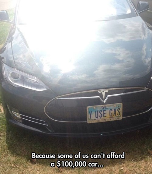 gas cars fossil fuel tesla
