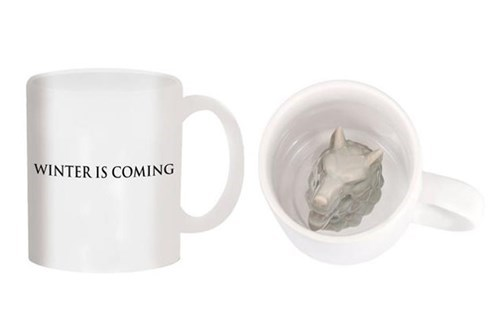 The Only Game of Thrones Mug That Stares Back at You