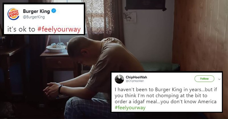 happy meal greasy real meals McDonald's feel your way fries mental illness mental health junk food burger king burgers fast food twitter twitter reactions mental health awareness month funny tweets - 8293381