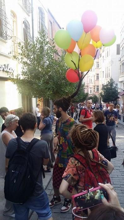 dreadlocks poorly dressed Balloons - 8293872640