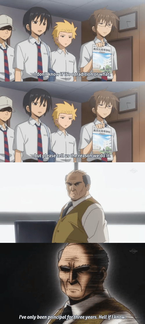 Daily Lives of High School Boys school anime - 8293895424