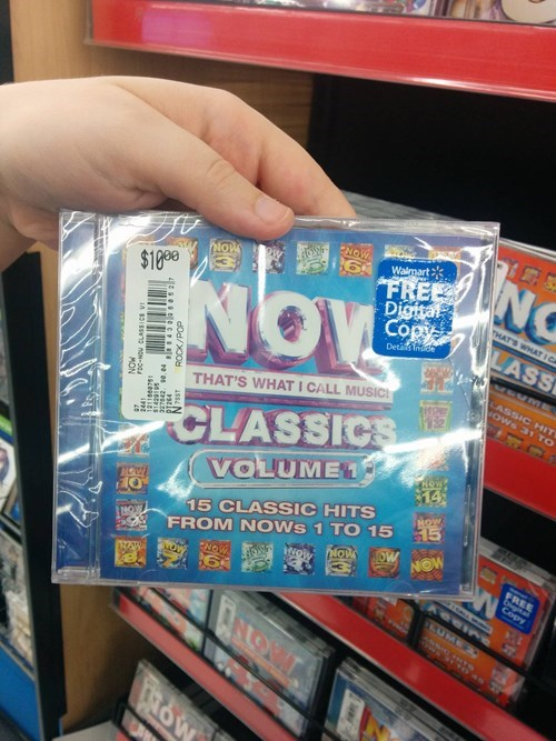 Music cds now Walmart