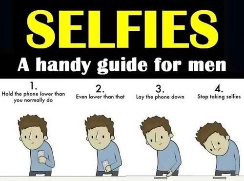 men bad idea selfie funny - 8294001408