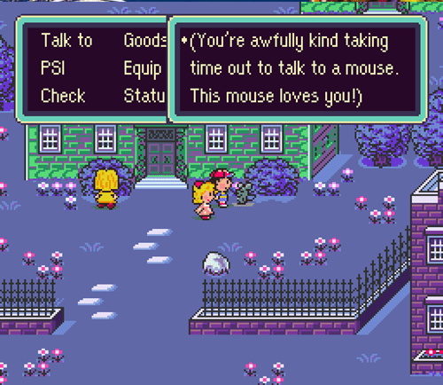 cute earthbound mouse
