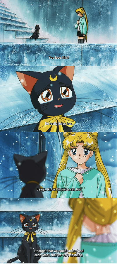 anime sailor moon luna - 8294058752