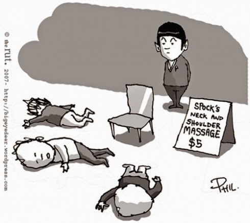 gifs chairs Spock Star Trek - 8294065920