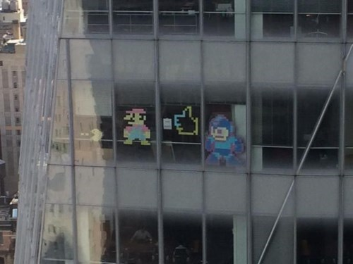 monday thru friday post it windows mega man thumbs up Super Mario bros g rated - 8294075136