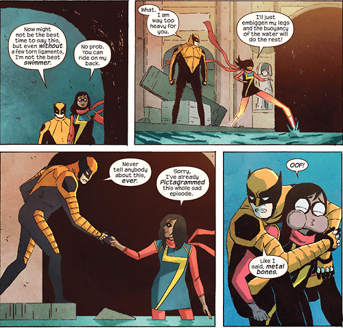 kamala khan ms marvel Straight off the Page wolverine - 8294125824