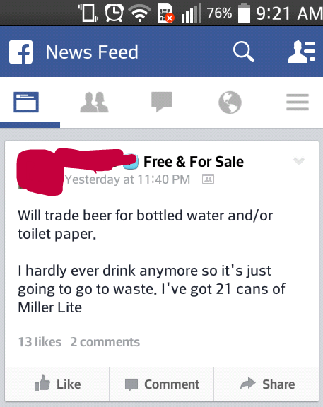 beer,barter,free stuff,trade
