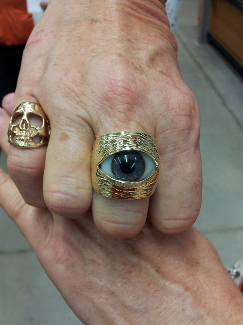 rings accessories poorly dressed creepy eyes eyeballs Jewelry g rated