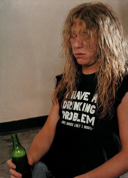 metallica James Hetfield t shirts funny drinking problem - 8294895872