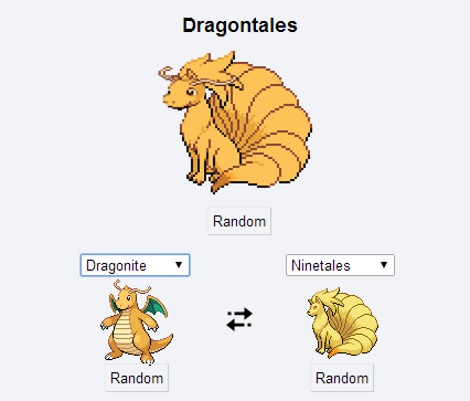 ninetales,dragonite,kanto,dragontales