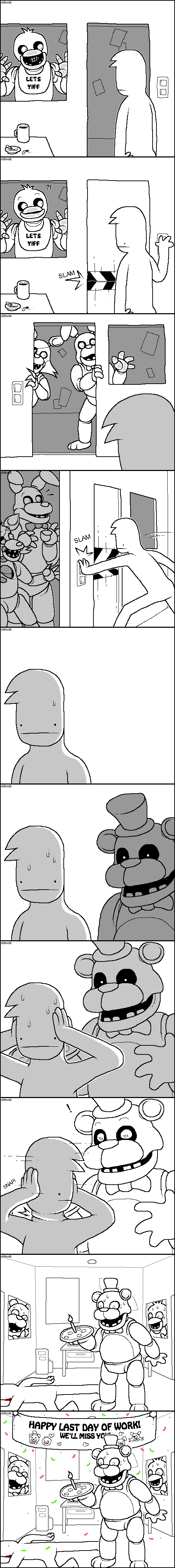 Awkward,web comics,five nights at freddy's