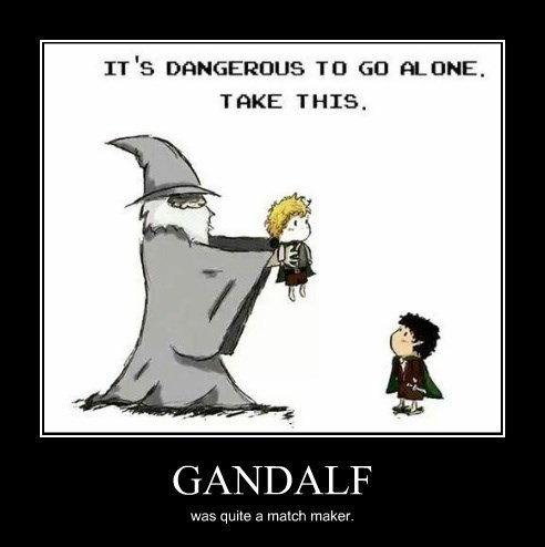 wtf gandalf fan fiction funny hobbit - 8295211264